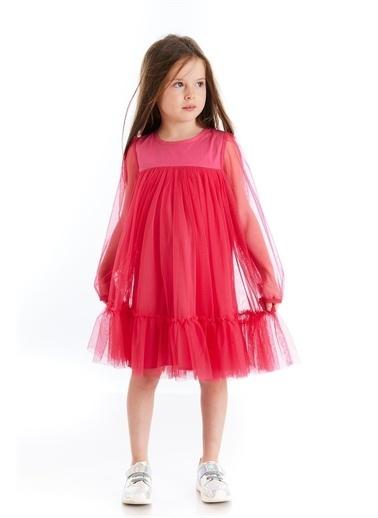 Colorinas Colorinas Scarlett Tütü Tüllü Fuşya Kız Çocuk Elbise Ekru